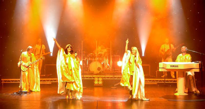 abba tribute band live 7 piece